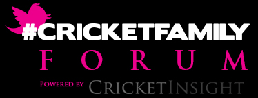 the #CricketFamily Forum powered by Cricket Insight